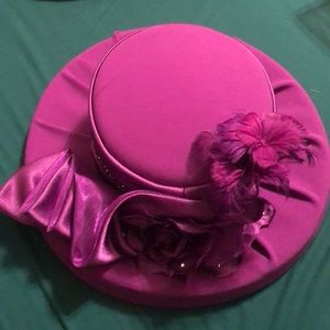Church Hat (purple)